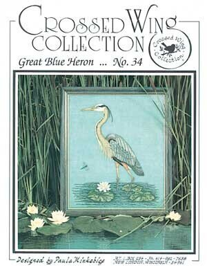 Great Blue Heron - Cross Stitch Pattern
