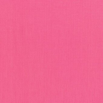 Hot Pink Cotton Solid Fabric Fat Quarter
