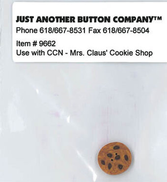 Button for Mrs Claus' Cookie Shop