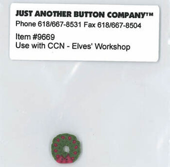 Elves' Workshop Button Pack