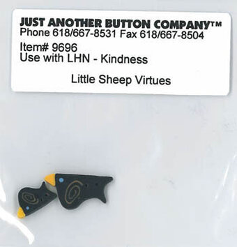 Little Sheep Virtues Kindness - Button Pack