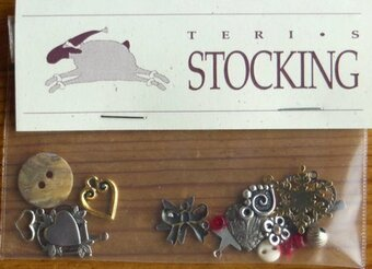 Charms for Teri's Stocking