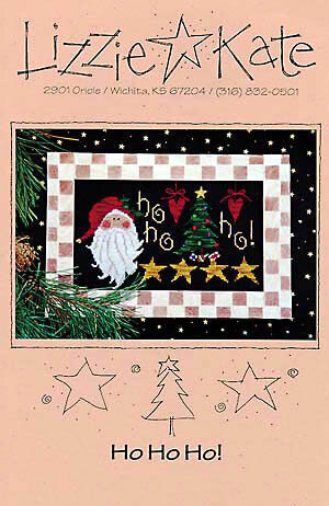 Ho Ho Ho! - Cross Stitch Pattern