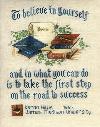 Graduate, The - Cross Stitch Pattern
