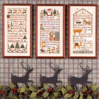 Christmas Samplers - Cross Stitch Pattern