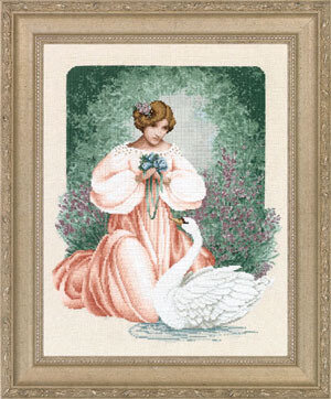 Lady Claire - Cross Stitch Pattern
