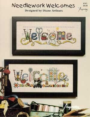 welcome crossstitch