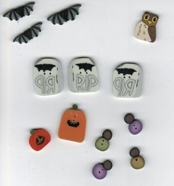 Widow Black's B&B - button pack