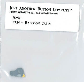 Button for Raccoon Cabin - Frosty Forest 1