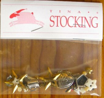 Charms for Tina's Stocking