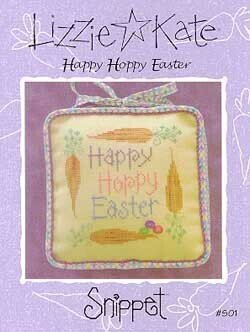 Happy Hoppy Easter - Cross Stitch Pattern