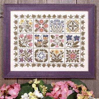 Praire Garden II, A - Cross Stitch Pattern