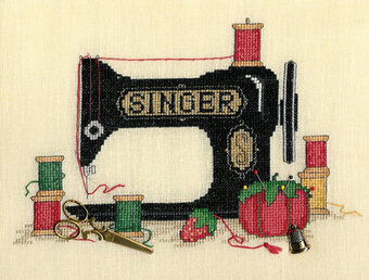 Sew Many Memories - Cross Stitch Pattern