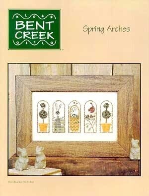 Spring Arches - Cross Stitch Pattern