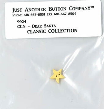 Dear Santa - Button