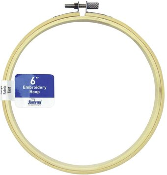 Janlynn Wood Embroidery Hoop - 6 inch Natural