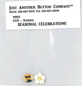Summer Seasonal Celebration - Buttons