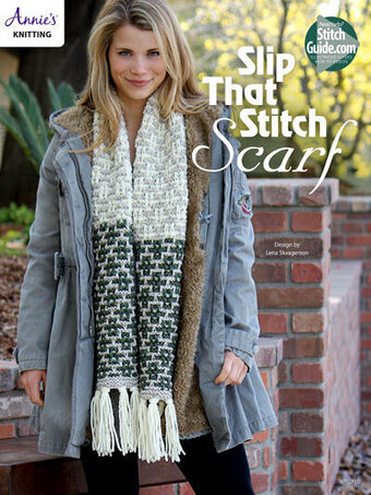 Slip That Stitch Scarf - Knitting Pattern