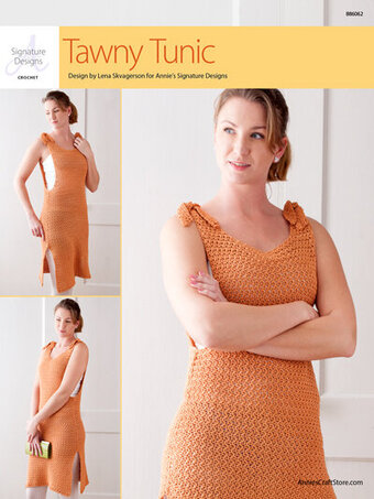 Crochet Ynez Tunic  Pattern  From Annie/'s Signature Designs