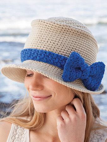 Annie s Novo Fedora Hat - Crochet Pattern 886124 - 123Stitch.com 2f13e2e1a90