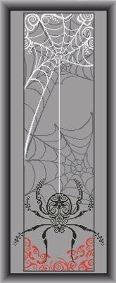 Spider Banner - Cross Stitch Pattern