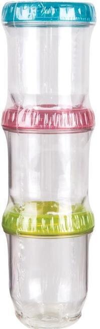 ArtBin Twisterz Jar Set Small Tall 3 Per Pkg