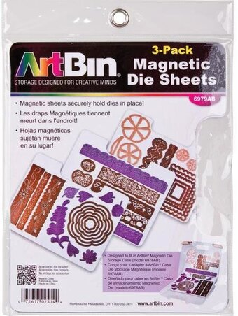 ArtBin Magnetic Sheets 3 Per Package