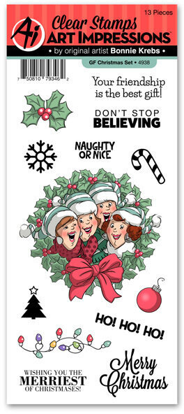 Girlfriends Christmas - Clear Stamp Set