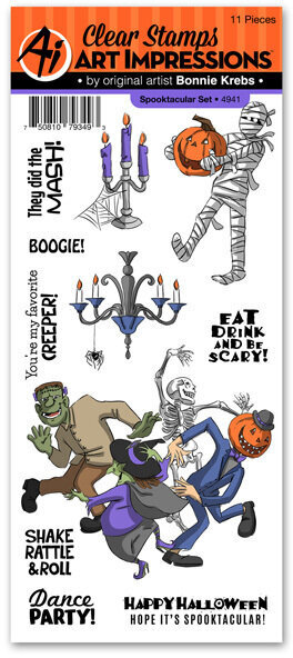Spooktacular  - Clear Stamp Set