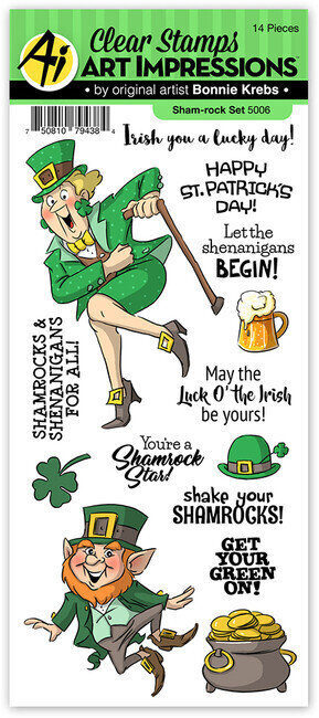 Shamrock - Clear Stamp