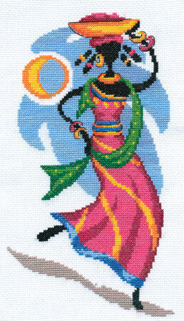 Africa's Daughter - Cross Stitch Kit