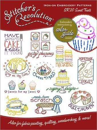 Sweet Treats (Stitcher's Revolution) - Iron On Transfers