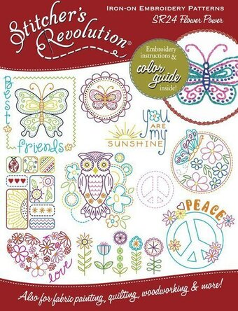 Flower Power - Iron On Transfers