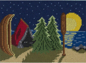Camp - Canoodles Needlepoint Kit