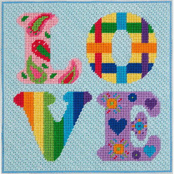 Love - Canoodles Needlepoint Kit