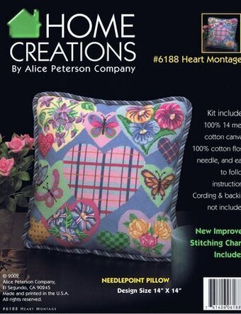 Heart Montage - Needlepoint Kit