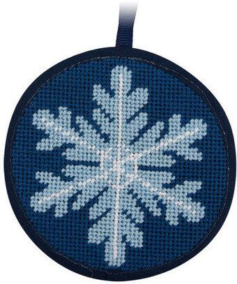 alice peterson snowflake christmas ornament needlepoint kit su7003