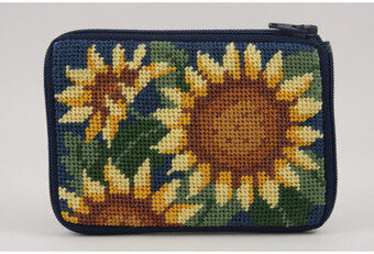 Coin Purse - Sunflower - Needlepoint Kit