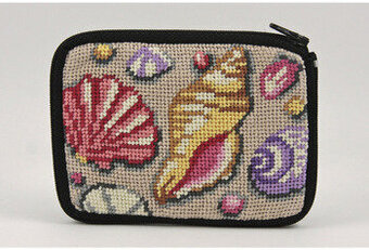 Coin Purse - Shell - Needlepoint Kit