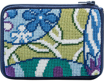 Coin Purse - Imari Abstract - Needlepoint Kit