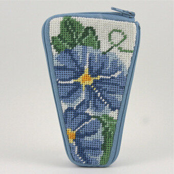Scissor Case - Morning Glory - Needlepoint Kit