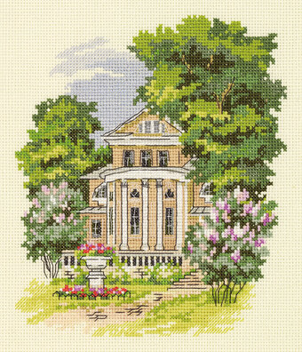 8x17 Dimensions Victorian Charm Counted Cross Stitch Kit
