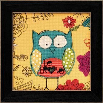 Be Brave (Amylee Weeks) - Beaded Cross Stitch Kit