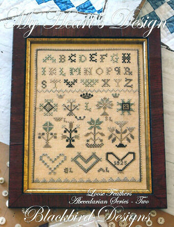 Loose Feathers - My Heart's Design - Cross Stitch Pattern