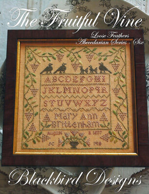 Loose Feathers - The Fruitful Vine - Cross Stitch Pattern