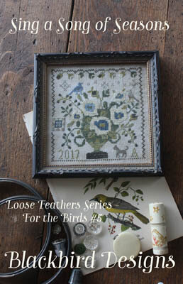 Sing a Song of Seasons - Loose Feathers - Cross Stitch Patte