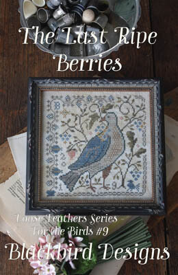 Last Ripe Berries - Loose Feathers - Cross Stitch Pattern