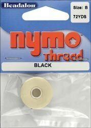 Nymo Beading Thread Spool - Size B - Black
