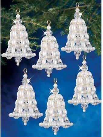 Super The Beadery Victorian Baubles Beaded Christmas Ornament Kit Easy Diy Christmas Decorations Tissureus