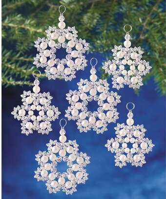 Groovy Beaded Kits From The Beadery 123Stitch Com Easy Diy Christmas Decorations Tissureus